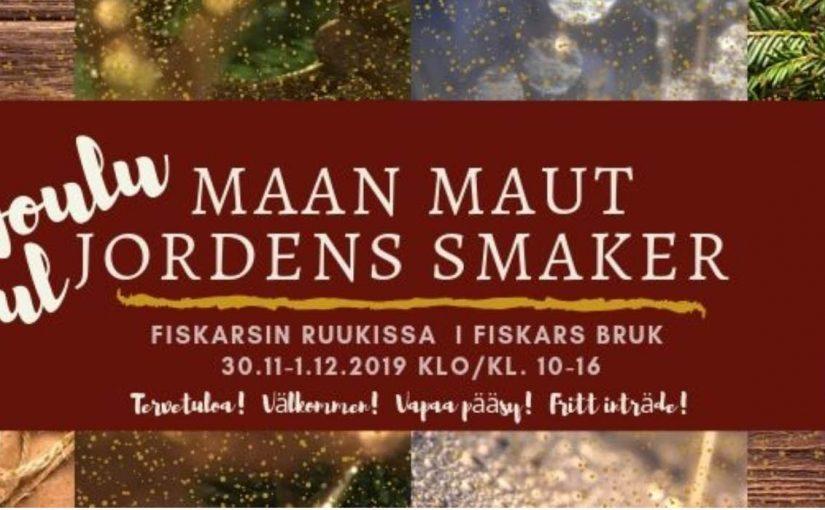 """Joulumarkkinat """"Maan maut"""" Fiskarsin ruukissa"""